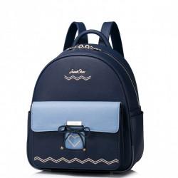 Piękny plecak z serduszkiem Niebieski