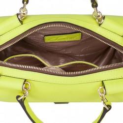 Stylowy krótki portfel damski Zielony