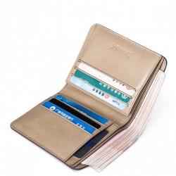 Długi damski portfel z jesiennej kolekcji Czerwony
