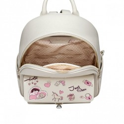 JUST STAR Dziewczęca torebka z wiosennej kolekcji Różowa