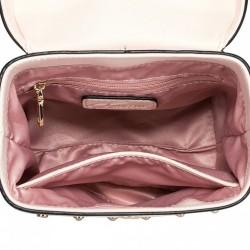 Prosta damska torebka do ręki Szara