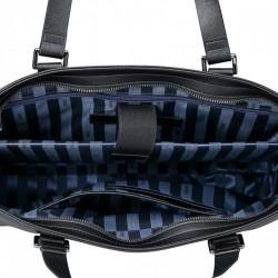 Dekorowana damska torebka do ręki Niebieska