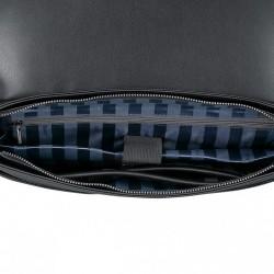 Torebka na ramię z wzorem syrenki Niebieska
