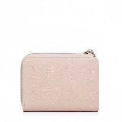 Krótki dziewczęcy portfel z motywem królika Różowy
