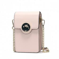 NUCELLE Mini torebka na telefon różowa