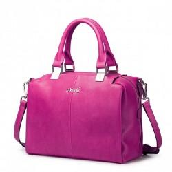 NUCELLE Jednolita solidna torba Różowa