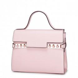 Modna i szykowna damska torebka do ręki Różowa