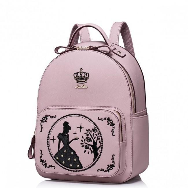 Plecak księżniczki Purpurowy