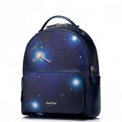 JUST STAR Plecak Nocne Niebo Niebieski
