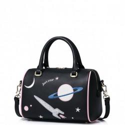 JUST STAR Kosmiczny kuferek Czarny