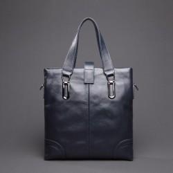 NUCELLE Urocza i delikatna damska torebka Niebieska