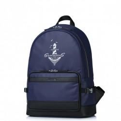 SAMMONS Wodoodporny plecak podróżny Granatowy