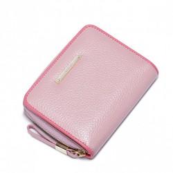NUCELLE Niewielki damski portfel Różowy