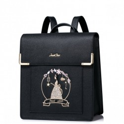 Plecak księżniczki Czarny