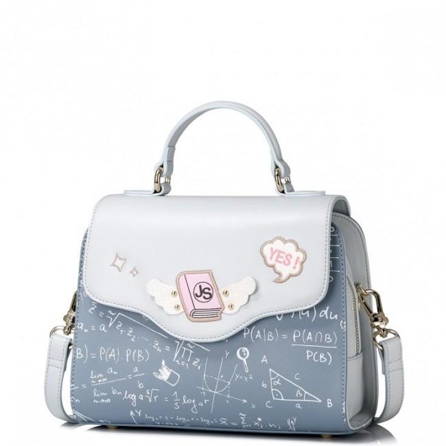 Uroczy dziewczęcy kuferek Niebieski