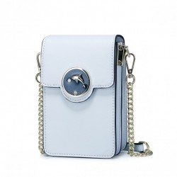 NUCELLE Mini torebka na telefon Niebieska