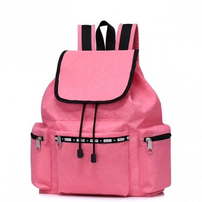 JOLUCY Podróżny plecak różowy