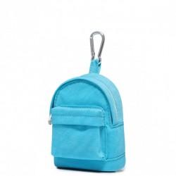 JOLUCY Mały plecaczek bilonówka niebieski