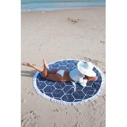 Wyjątkowa mata plażowa i pareo w jednym/N