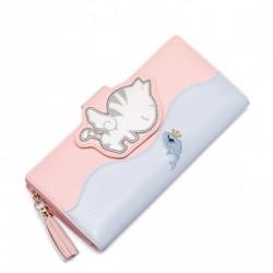 JUST STAR Bajkowy pastelowy portfel