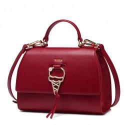 NUCELLE Czerwony kuferek ze złotym dodatkiem