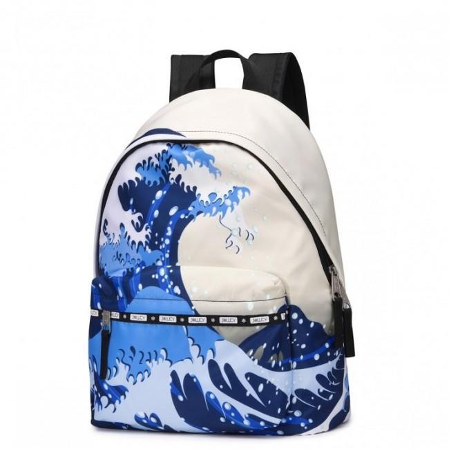 JOLUCY Plecak z motywem morza