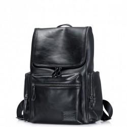 SAMMONS Stylowy i pojemny plecak podróżnika Czarny