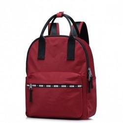 JOLUCY Damski pakowny plecak Czerwony