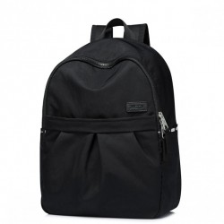 JOLUCY Prosty klasyczny plecak Czarny