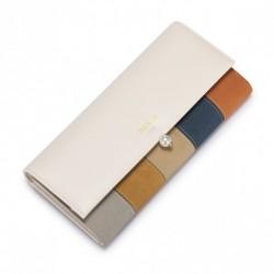 NUCELLE Długi oryginalny i kolorowy portfel