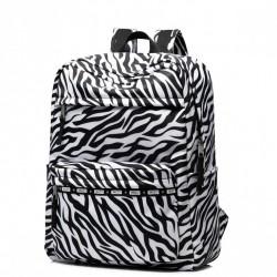 JOLUCY Stylowy plecak zebra design