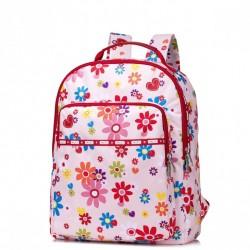 JOLUCY Poliestrowy plecak w kwiaty