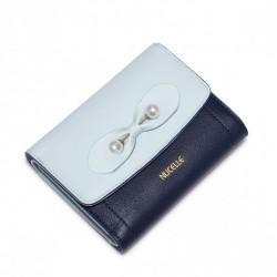 NUCELLE Krótki elegancki portfel