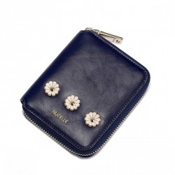 NUCELLE Kwiatowy krótki portfel