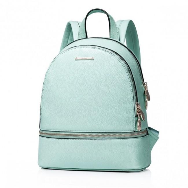 Modny miejski damski plecak Zielony