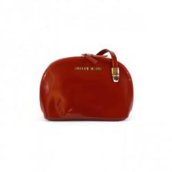 Elegancka półokragła torebka czerwona Armani Jeans