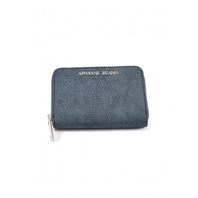 1906d8bc1421e Krótki portfel a'la jeans Armani Jeans niebieski(a'la jeans) skóra ...