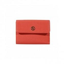 Pomarańczowy krótki portfel Armani Jeans