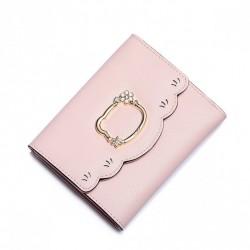 JUST STAR Słodki różowy portfel