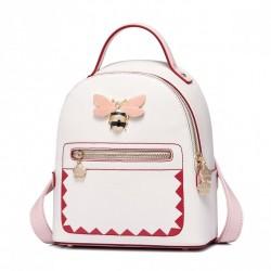 JUST STAR Słodki plecak z pszczołą Ecru