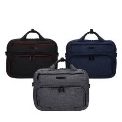 Mała torba na laptopa 13,3 & 039   Snowball w różnych odcieniach z paskiem 65313