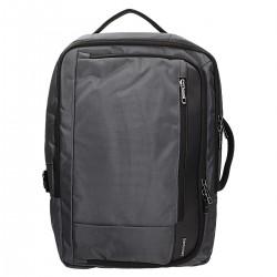 2w1 plecak i torba w kolorze szarym z kieszenią na laptop DAVID JONES PC-027