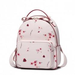 JUST STAR Plecak w kolorze różowym , kwiecisty