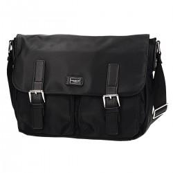 Męska torba na ramię w kolorze czarnym DAVID JONES 685505