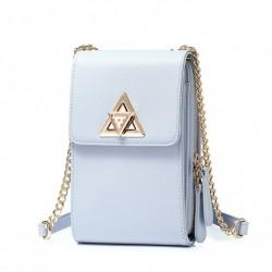 Zgrabna torebka na telefon niebieska