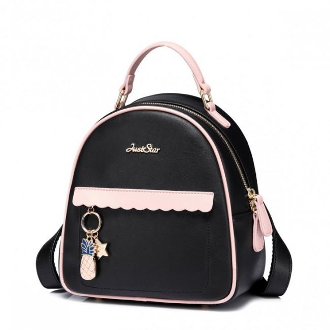 Plecak czarny charmsy