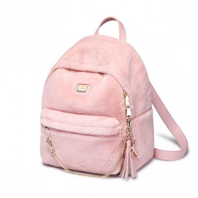 Pluszowy plecak różowy