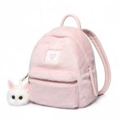 Różowy plecak z króliczkiem
