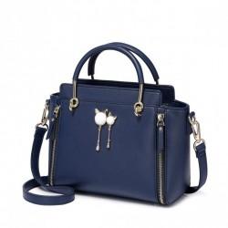 Damska torebka, niebieska