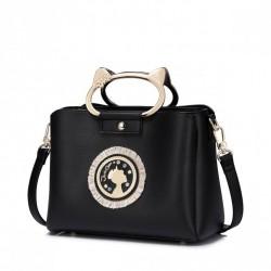Nowa klasyczna torebka czarna